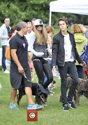 Elle Macpherson and Arpad Flynn Busson