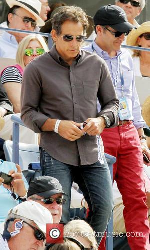 Ben Stiller - Celebrities attend the Men's Singles semi-final match between Rafael Nadal and Richard Gasquet at the US Open...