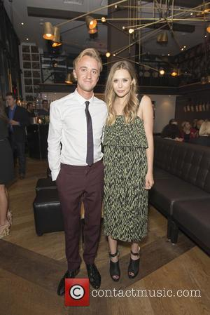 Tom Felton and Elizabeth Olsen