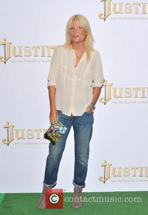 Gaby Roslin - The UK premiere of 'Justin and the Knights of Valour' held at the May Fair Hotel -...