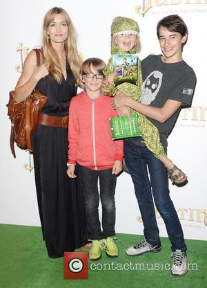 Natascha McElhone - The UK Premiere of 'Justin and the Knights of Valour' held at the May Fair Hotel -...
