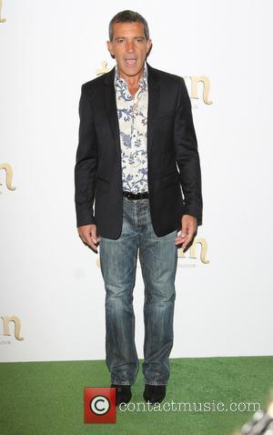 Antonio Banderas - The UK Premiere of 'Justin and the Knights of Valour' held at the May Fair Hotel -...