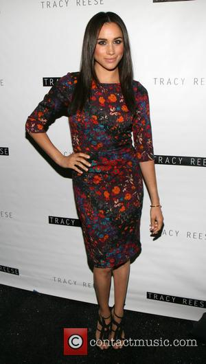 Meghan Markle - Mercedes-Benz Fashion Week Spring 2014 at The Studio, Lincoln Centerr - Tracy Reese - Backstage - New...