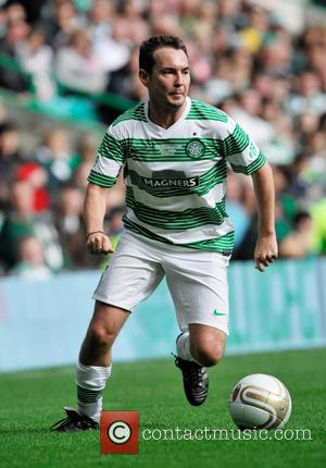 Martin Compston - The Celtic XI in the Stiliyan Petrov #19 Legends Charity Football Match - Glasgow, Scotland - Sunday...