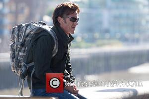 Sean Penn Stops Traffic With London Film Shoot