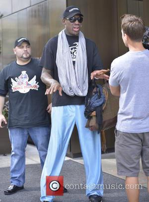 Dennis Rodman - Former US basketball star Dennis Rodman returns home after a trip to North Korea - New York...