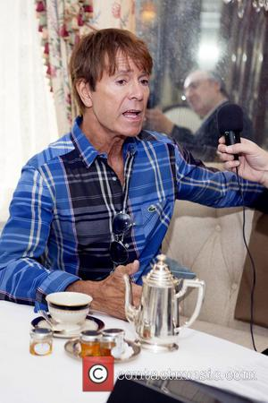 Sir Cliff Richard and Phillip Silverstone - EXCLUSIVE Phillip Silverstone interviews Sir Cliff Richard at the Lowell Hotel in New...