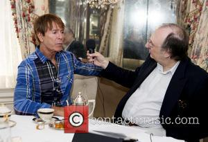 Sir Cliff Richard and Phillip Silverstone