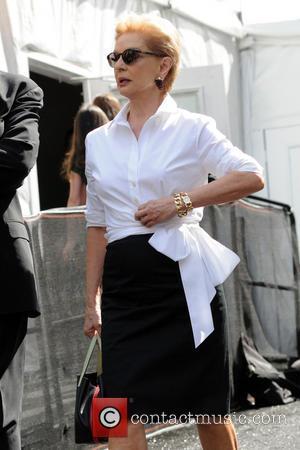 Carolina Herrera - Mercedes-Benz New York Fashion Week - Celebrity Sightings - New York City, New York, United States -...