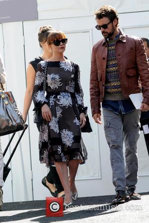 Christina Ricci - Mercedes-Benz New York Fashion Week - Celebrity Sightings - New York City, New York, United States -...