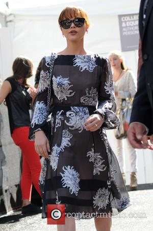 Christina Ricci, New York Fashion Week