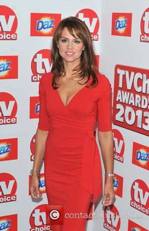 Beverly Turner - The TVChoice Awards 2013 held at the Dorchester - Arrivals - London, United Kingdom - Monday 9th...