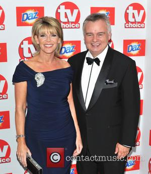 Ruth Langsford and Eamonn Holmes - The TV Choice Awards 2013 held at the Dorchester - Arrivals - London, United...
