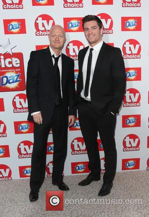 Jake Wood and David Witts - The TV Choice Awards 2013 held at the Dorchester - Arrivals - London, United...