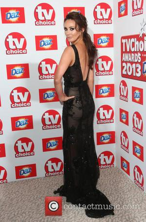 Claire Cooper - The TVChoice Awards 2013 held at the Dorchester - Arrivals - London, United Kingdom - Monday 9th...