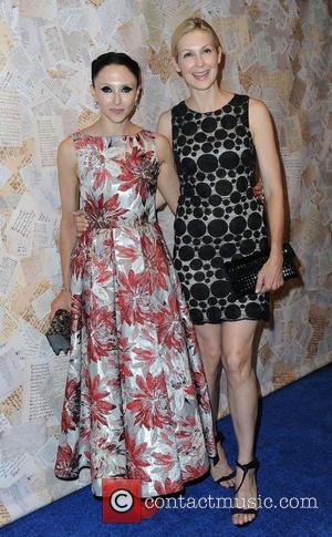 Stacey Bendet and Kelly Rutherford - Mercedes-Benz New York Fashion Week Spring/Summer 2014 - Alice + Olivia - Arrivals -...