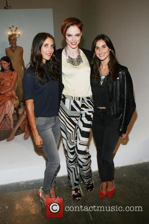Jodie Snyder, Coco Rocha and Danielle Snyder