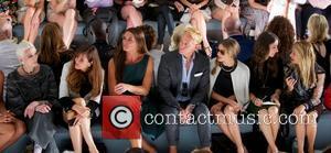 Carmen Dell'orefice, Carol Alt, Brooke Shields and Olivia Palermo