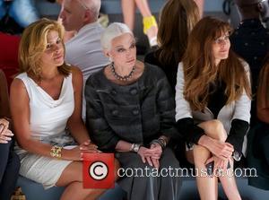 Carmen Dell'orefice and Carol Alt