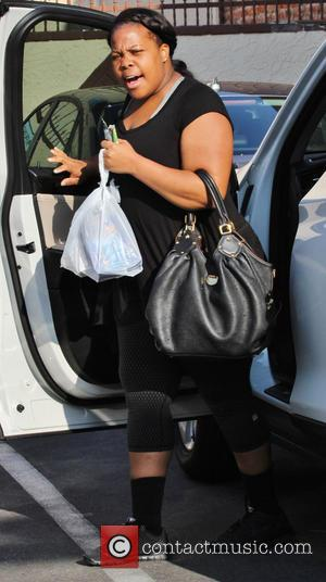 Amber Riley - Celebrities arrive at the rehearsal studio for 'Dancing With The Stars' - Hollywood, California, United States -...