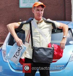 Bill Nye - Celebrities arrive at the rehearsal studio for 'Dancing With The Stars' - Hollywood, California, United States -...