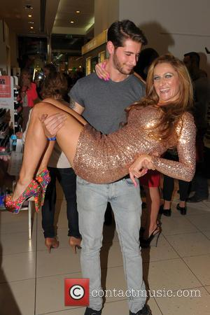 Jemima Slade and Vinny Azz (Model) - Big Brother 2013 housemate Jemima Slade at the Professional Player party and catwalk...