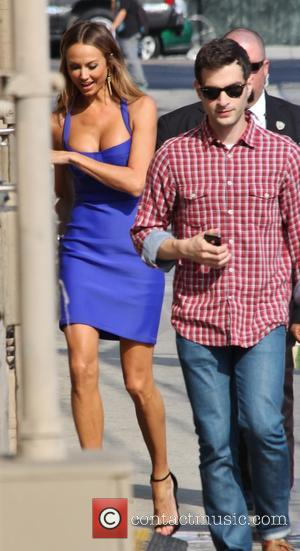 Stacy Keibler - Celebrities outside ABC's 'Jimmy Kimmel Live!' studios - Los Angeles, CA, United States - Tuesday 10th September...