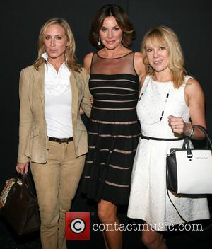 Sonja Morgan, Luann de Lesseps and Ramona singer - Mercedes-Benz Fashion Week Spring 2014 - Zang Toi - Front Row...