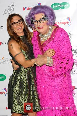 Melanie Chisholm, Mel C and Dame Edna Everage