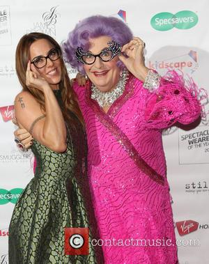 Melanie Chisholm, Dame Edna Everage and Mel C