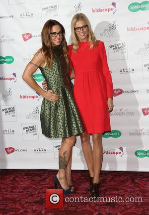 Melanie Chisholm and Donna Air