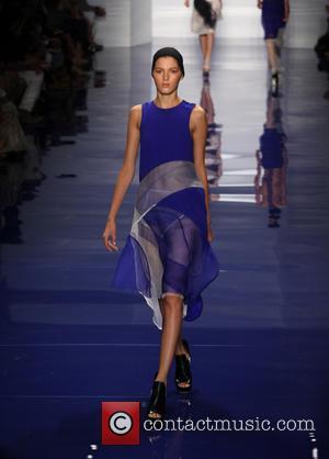 Vera Wang - Mercedes-Benz New York Fashion Week Spring/Summer 2014 - Vera Wang Runway - New York, NY, United States...