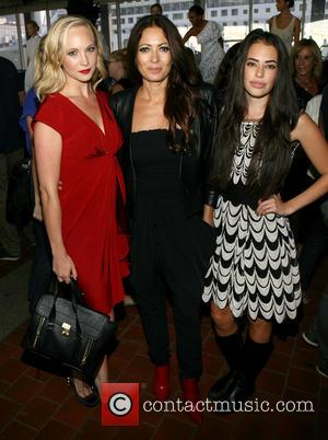 Candice Accola, Catherine Malandrino and Chloe Bridges