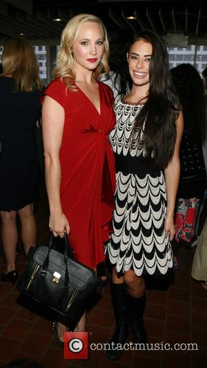 Candice Accola and Chloe Bridges