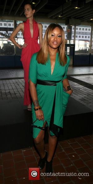 Eve - Mercedes-Benz Fashion Week Spring 2014 - Catherine Malandrino presentation at Pier 92 - New York, NY, United States...