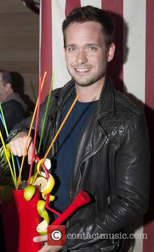 Patrick J. Adams - Patrick J. Adams parties with fans in the VIP area of Everleigh Garden - Dublin, Ireland...