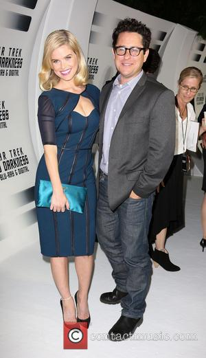 Alice Eve and J.J. Abrams - 'Star Trek: Into Darkness' Blu-ray and DVD debut at California Science Center - Los...
