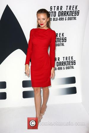Bar Paly - 'Star Trek: Into Darkness' Blu-ray and DVD debut at California Science Center - Los Angeles, California, United...