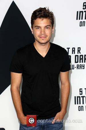 Emile Hirsch - 'Star Trek: Into Darkness' Blu-ray and DVD debut at California Science Center - Los Angeles, California, United...