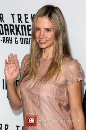 Mira Sorvino - 'Star Trek: Into Darkness' Blu-ray and DVD debut at California Science Center - Los Angeles, California, United...
