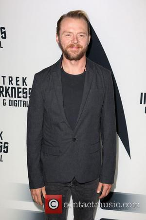 Simon Pegg - 'Star Trek: Into Darkness' Blu-ray and DVD debut at California Science Center - Los Angeles, California, United...