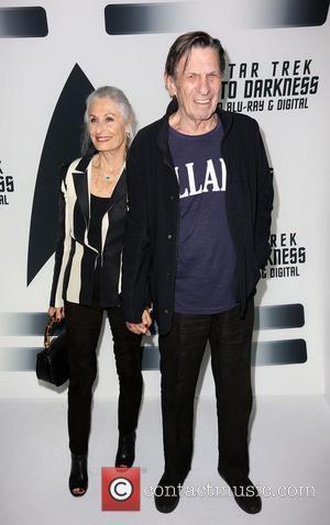 Susan Bay and Leonard Nimoy