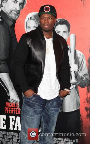 50 Cent and Curtis Jackson - New York premiere of 'The Family' held at AMC Loews Lincoln Square - New...
