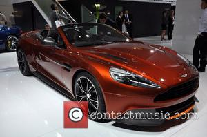 Aston Martin Vanquish Volante - New models and concept designs on display at the 65th Frankfurt Motor Show - Frankfurt,...