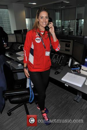 Amy Williams - BGC Annual Global Charity Day held at 1 Churchill Place - London, United Kingdom - Wednesday 11th...