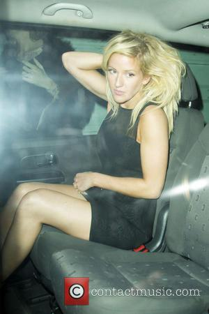 Ellie Goulding - Celebrities leaving the Groucho Club in Soho - London, United Kingdom - Wednesday 11th September 2013