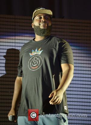New York Rapper Bas - J. Cole performing live in concert his 'What Dreams May Come Tour' - Miami, FL,...