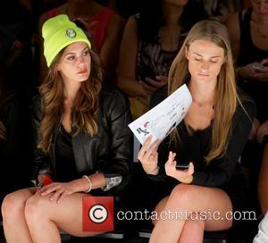 Erin Brady and Julie Henderson - Mercedes-Benz Fashion Week Spring 2014 - Betsey Johnson at The Studio at Lincoln Center...