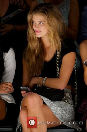 Nina Agdal - Mercedes-Benz Fashion Week Spring 2014 - Betsey Johnson at The Studio at Lincoln Center - Front Row...