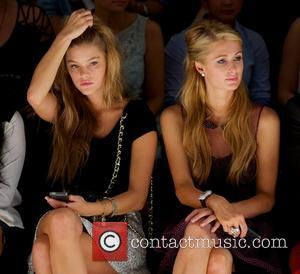 Nina Agdal and Paris Hilton